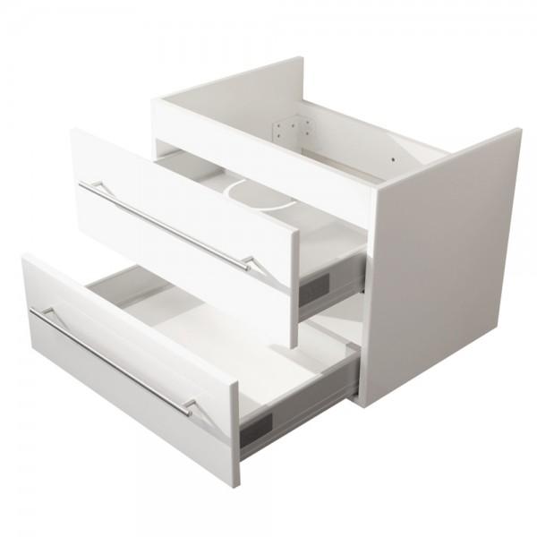 Duravit Vero Waschtischunterschrank 60 cm Hochglanz Weiß