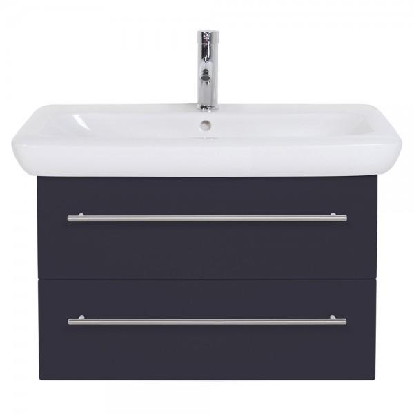 Waschtischunterschrank für Keramag It Waschbekcen 80 cm Seidenglanz