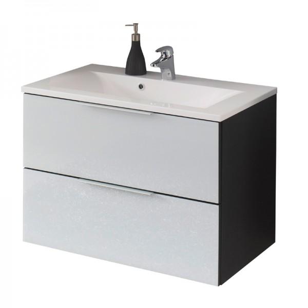 Badezimmer Waschtisch mit Unterschrank 80 cm