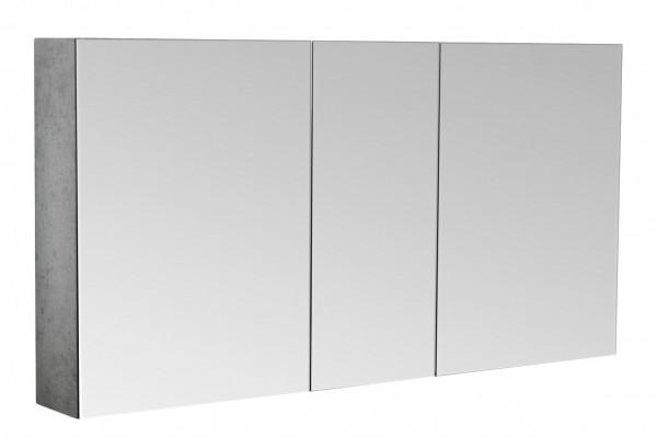 Spiegelschrank Badezimmer beton 120 cm