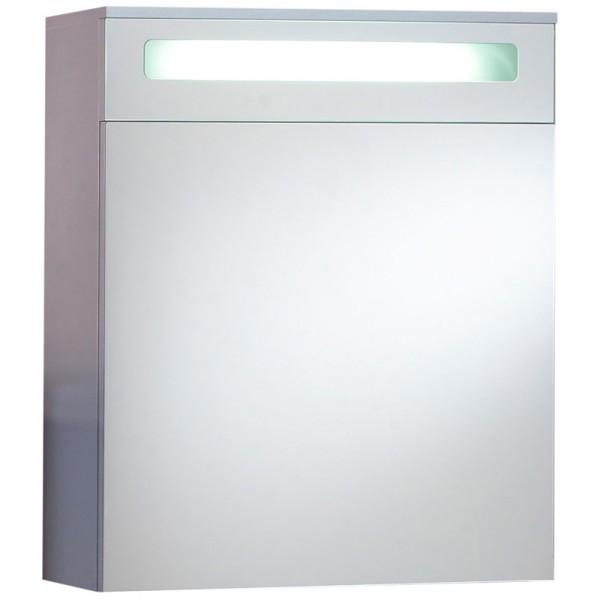 Badezimmer Spiegelschrank mit Leuchtblende 60 cm