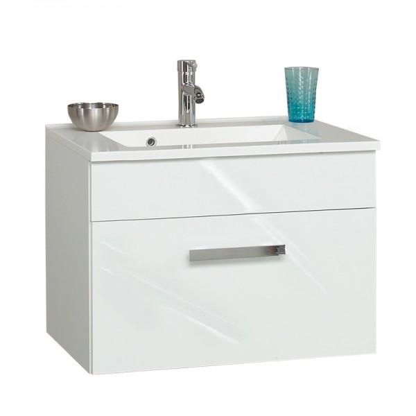 Gäste WC Waschtisch mit Unterschrank 60 cm