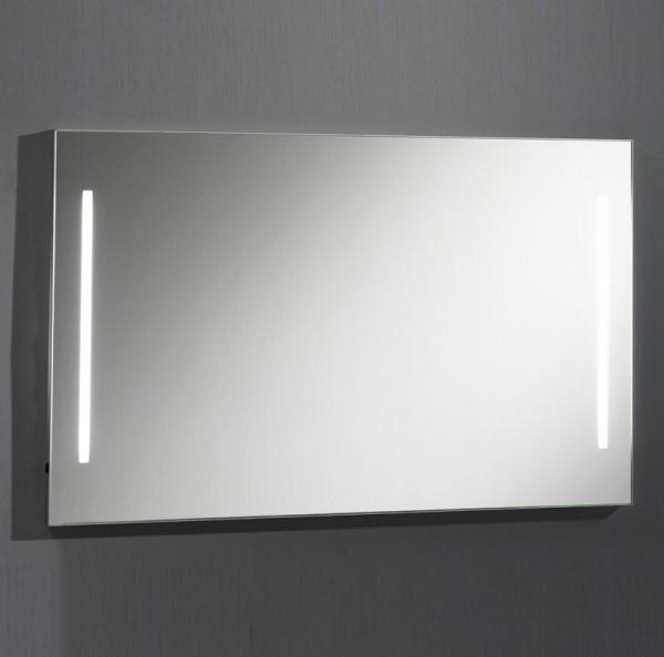 Badspiegel mit Beleuchtung 110 cm breit Made in Germany