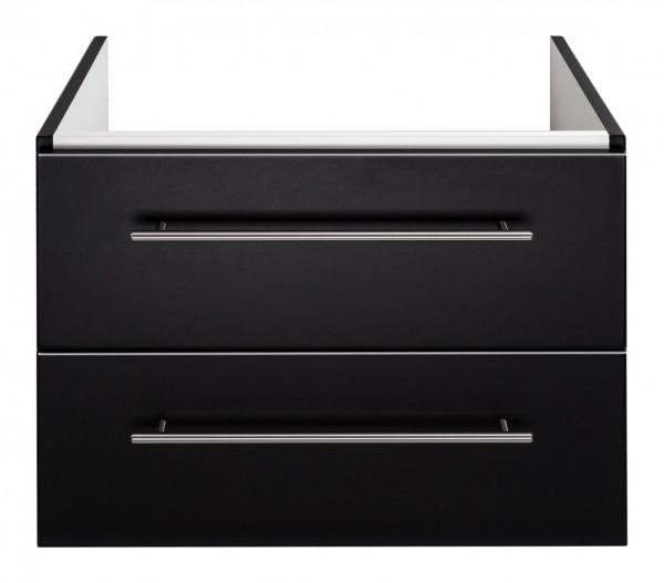 Waschtisch Unterschrank 60 cm schwarz Seidenglanz für Keramag Icon Waschbecken